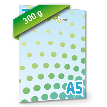 Personnaliser Flyer A5 Recto Portrait 300g