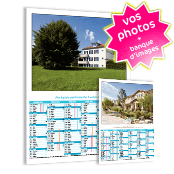 Old calendrier mural 2013 avec photo maison et immobilier for Calendrier mural gratuit