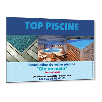 Commande à Saint Pierre d'Amilly, Flyer piscine en kit et Spa en bois naturel