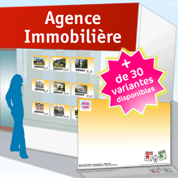 Impression de flyers immobilier achat vente location for Agence immobiliere knokke location saisonniere