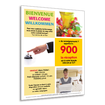 Personnaliser Flyer A5 Recto Guest Directory