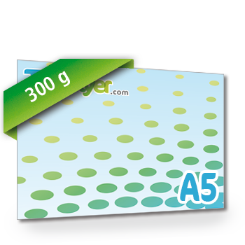 Personnaliser Flyer A5 Recto Paysage 300g