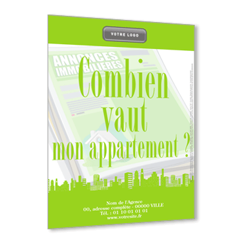 Flyer 115g Calendrier 2020 Mailing Immobilier